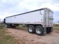 2008 Timpte hopper, 42x66 stainless rear and corners, 4
