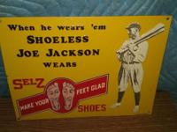 I have several reproduction tin signs. Pick-up Only: As