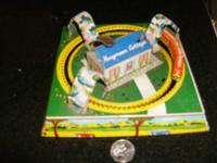 1950s honey moon cottage wind up train it works 60.00