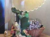 Hi Im selling a great condition disney tinkerbell lamp,