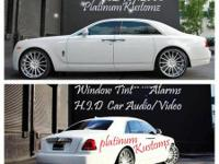 We are a full blown audio and auto accessories show we