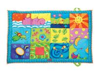 The Tiny Love Super Mat is a soft and colorful mat