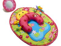 The Tummy-Time Fun Pillow & Mat from Tiny Love is an
