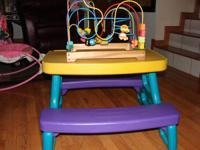 I have a wonderful Little Tikes Pic Nic Table that has