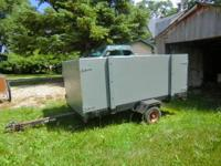 For Sale is a 4' X 8' Tipping Trailer with removable