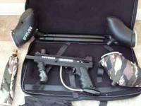 I have a Tippman 98 Custom Paintball Marker for sale.