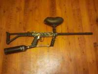 My son is selling his Tippman 98 Custom Pro paintball