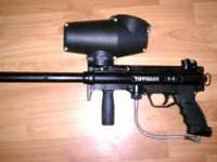Tippman A5, with Response Trigger and Cyclone Feed