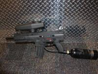Tippmann X7 barely used and in excellent condition.