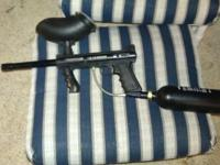 tippmann 98 custom with 20 oz tank and hopper for 75