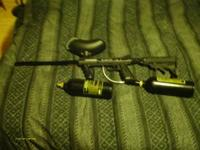 tippman 98 custom. long barrel. adjustable stock. two