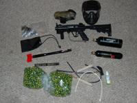 I am selling my Tippman a-5 marker with extras. The