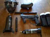 Tippmann 98 Custom paintball gun and accessories for