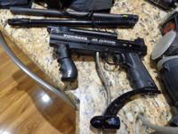 Tippmann 98 Custom Paintball Gun Custom Barrels,