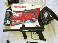Used twice. Will include 500 DS Bronze Paintballs. Mega