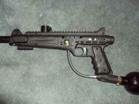 Like new Tippmann Carver One paintball gun. Never been