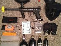 Tippmann 98 Custom with everything you have to go out