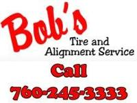 TIRES, BRAKES & WHEEL ALIGNMENT SERVICE IN HIGH