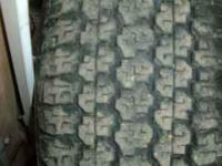 Tire with great tread P 255 65 16 $20 6 lug wheel