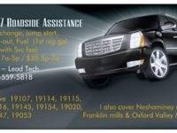 . Stranded? need service?  I offer fuel shipment, lock