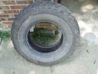 I have one Mastercraft Courser MT tire size