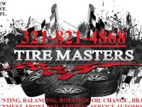 LOOKING FOR TIRES ? WE HAVE YOUR BACK ... WE HAVE OVER