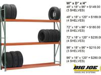 These tire racks are flexible and extremely strong,