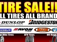 Our wide selection of Tires will surely enhance your