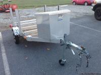 For sale- Ultralight aluminum Tire Trailer by Trailex-