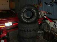 I have 4 General Grabber Tires. 35-12.50-15 size Their