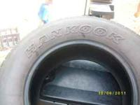 I am posting these tires : 265/70-r17. They are in good