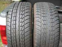 2 Primewell PS380 tires, 205/55/16 91H, treadwear 460,