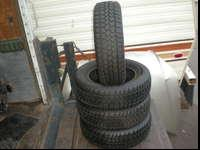 I HAVE THIS FULL SET OF TIRES IN GOOD CONDITION TREAD