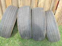 3 sets of 4 goodyear tires...excellent tread all 3