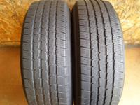 Good pair of tires offered. They are Michelin 225/75R16