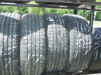 245/65/17 GOOD YEAR FORETERRAS   75 % TREAD DAVES TIRE