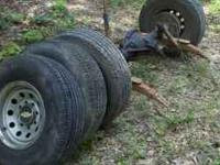 I have a set of 235-85-R16 tires for sale. Comes with