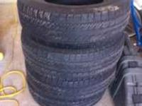 Tires are in great shape. They are 265/70/16 with nice