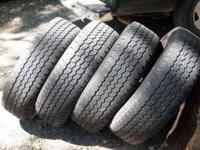 Wrangler/Goodyear, R17, 265/70, 4 ply, 35psi, 4 tires,