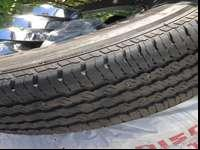 These are burly used Continental Contitrac SUV tires. I