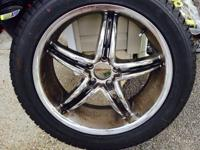 "Four 20"" Westlake SV-308 275/45R/20 tires for sale."