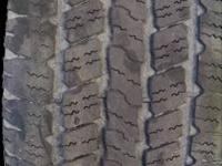 GOODYEAR WRANGLERS 4 TIRES 25 PERCENT TREAD $100 CASH