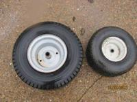 Tires for a riding mower 18x8.50 and 15x6.00-6