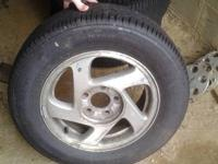 I have 4 brand new tires I bought for a 99 Pontiac