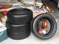 I HAVE 4 LIKE NEW SPORT CAR TIRES FOR SALE  EXCELLENT