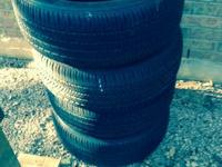 I have a set of Bridgestone turanza el400 tires 215/55