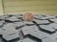 I have a set of 32x11.50x15 bfg all terrain tires ,