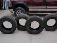 I have tires for sale they are half tread about 20,000