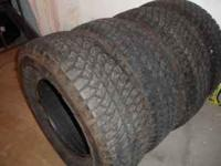 I have a set of bridgestone dueler a/t tires, about 85%