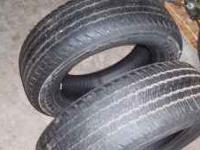 2-firestone, destination, 235-65-16-101s,, 60% tread,